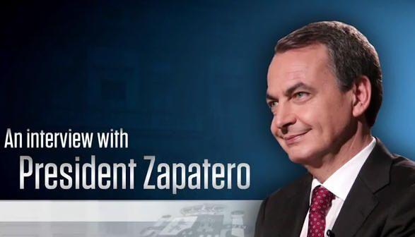 Zapatero en YouTube World View