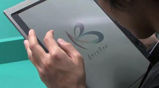 El futuro de los eBook, Bridgestone AeroBee