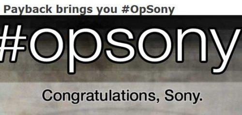 Sony PSN fuera de servicio, Anonymous cumple su amenaza