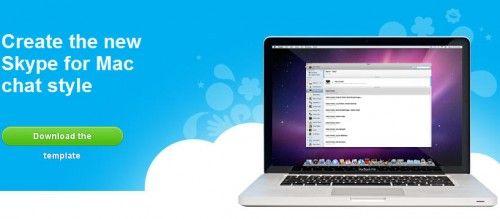 Concurso Skype para mejorar el estilo de su chat para Mac 28