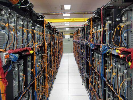 Carga mundial de los Datacenters según servicios on-line