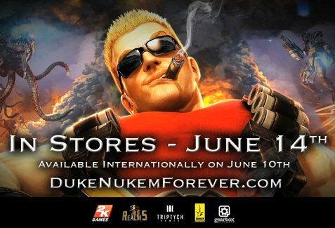 Alta tensión con las 'nenas' de Duke Nukem Forever