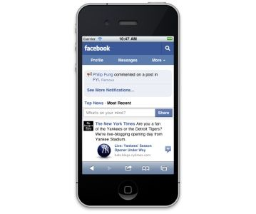 Facebook lanza nuevo portal unificado para móviles