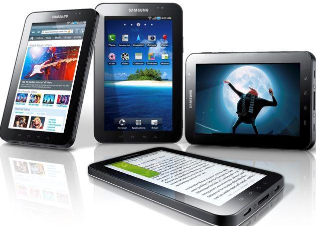 Android 3.0 en el Samsung Galaxy Tab 30