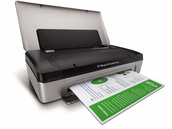 Impresora portátil HP Officejet 100 Mobile