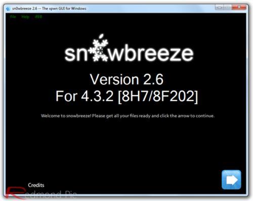 Jailbreak untethered iOS 4.3.2 sin subir baseband, sn0wbreeze 2.6 28
