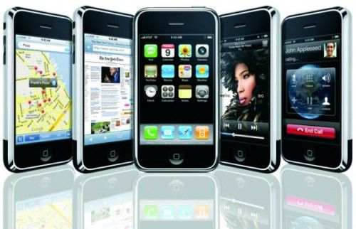 iPhone 5 evolución; iPhone 6 revolución
