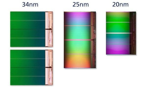 Nuevos chips NAND Flash de 20 nm de Intel y Micron