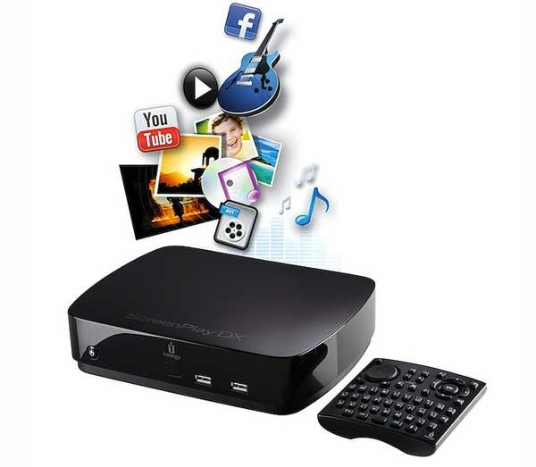 Reproductor multimedia Iomega ScreenPlay DX HD