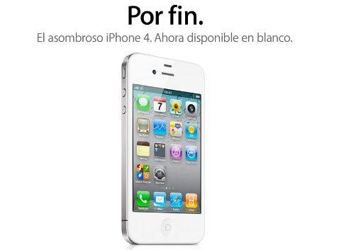 Fotografías de la caja del iPhone 4 blanco que empezará a venderse mañana 27 de abril