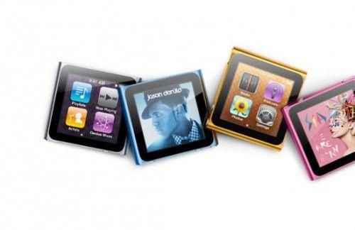 El próximo iPod nano 7G integrará cámara