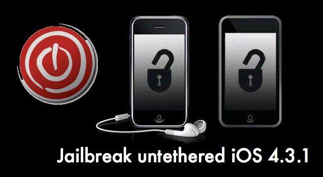 Jailbreak ios 4.3.1 untethered
