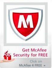 Antivirus McAfee gratis 6 meses para sus fans en Facebook