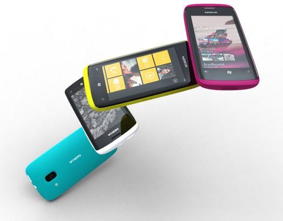 Nokia W7 y Nokia W8: ¿los primeros con Windows Phone 7?