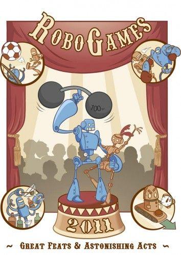RoboGames 2011, finales de humanoides y combots (VIDEO)