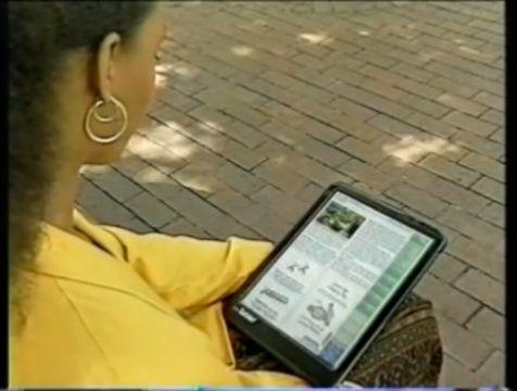 El abuelo de iPad y el resto de tablets, año 1994