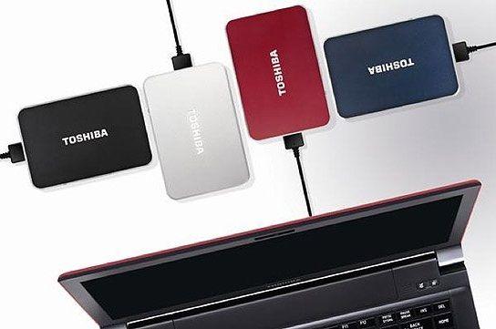 Toshiba Stor.e Edition ya disponen de conectividad USB 3.0
