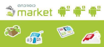 Android Market es líder en aplicaciones gratuitas y pronto en el total