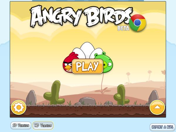 Ya se puede jugar a Angry Birds en el navegador web
