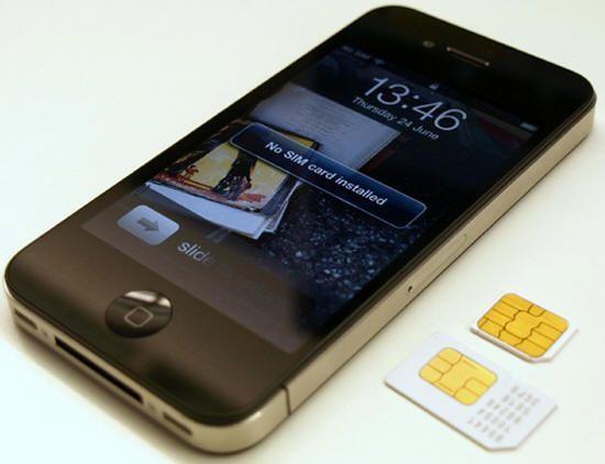 Apple propone una nueva tarjeta SIM, estándar y más pequeña