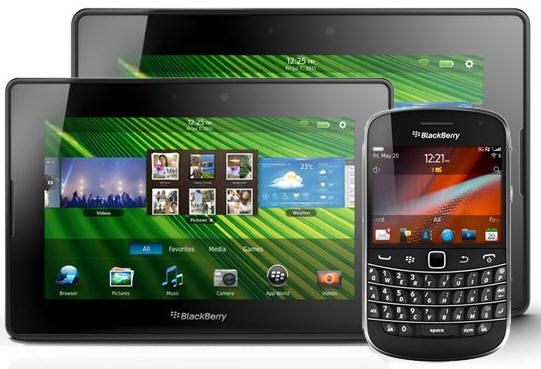 ¿Blackberry Playbook de 10 pulgadas en otoño?