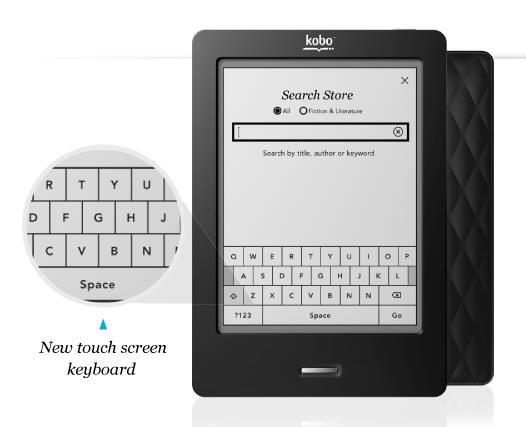 Nuevo Kobo e-reader táctil por 130 dólares 30