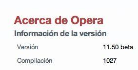 Opera 11.50 beta