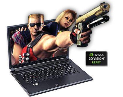 Clevo P170HM-3DE, portátil 3D para juegos