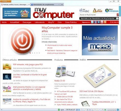 Chrome 13 y Firefox 5: ¿adiós a la barra de URLs? 29