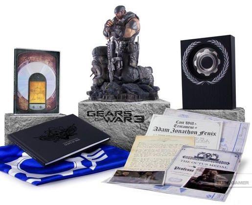 MS anuncia ediciones y precios de Gears of War 3 cuando bate récords de reservas
