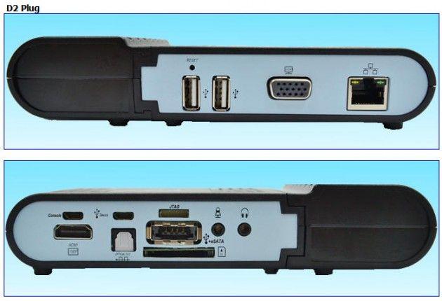 Globalscale D2Plug, PC en miniatura con ARM y Linux