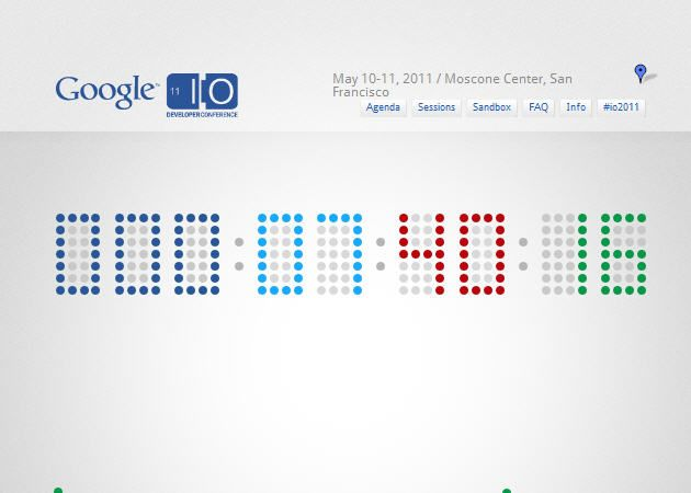 Google I/O en directo vía streaming