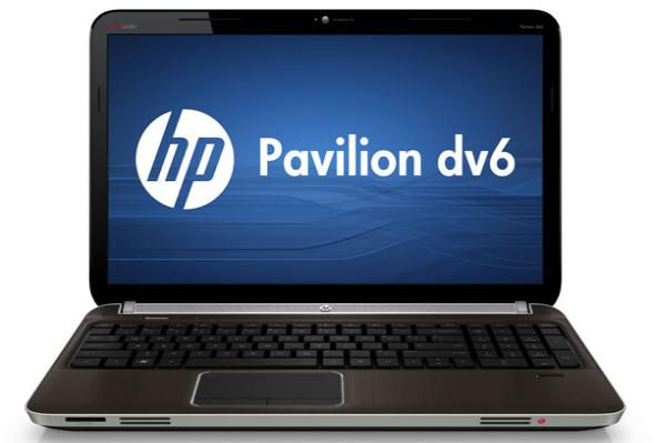 HP Pavilion dv6 con APU AMD de cuádruple núcleo