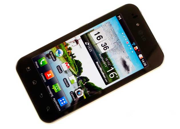 LG Optimus Black, primer contacto