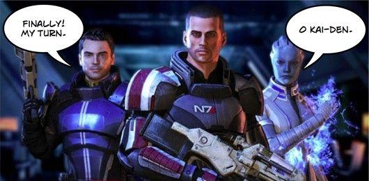 Shepard (Mass Effect 3) también podrá ser gay