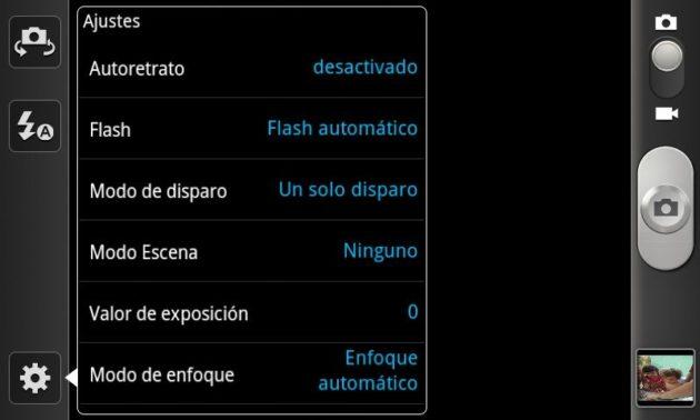 Samsung Galaxy II camara 630x378 Samsung I9100 Galaxy S II, la saga se refuerza