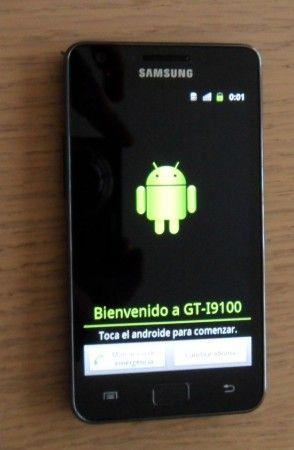 Samsung Galaxy II inicio 294x450 Samsung I9100 Galaxy S II, la saga se refuerza