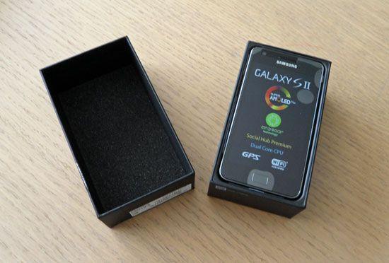 Samsung Galaxy II unboxing Samsung I9100 Galaxy S II, la saga se refuerza