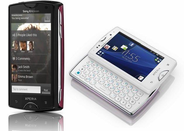 Sony Ericsson anuncia los XPERIA Mini y Mini pro 31