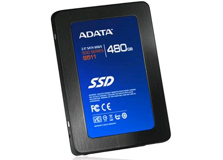 A-DATA S511 SATA 6Gbps, veloz SSD