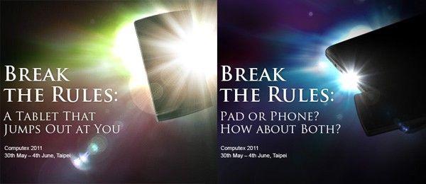 [Computex 2011] ASUS presentará un dispositivo híbrido, tablet+smartphone: ¿PadFone?