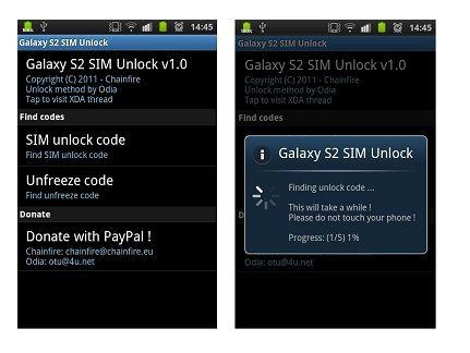 Libera Samsung Galaxy S II gratis