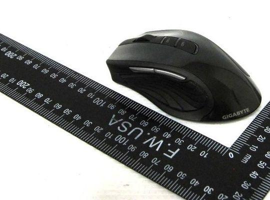 GIGABYTE prepara un ratón con 1 año de autonomía, Gigabyte ECO600