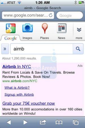 Google actualiza su portal de búsqueda personalizado para iPhone 31
