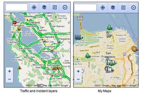 Google Maps llega en versión web para smartphones