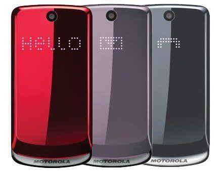 Motorola Gleam, un móvil sencillo y elegante