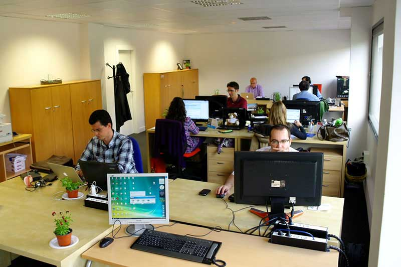 nueva oficina TPN 01 ¡MuyComputer se muda a una nuevas oficinas!