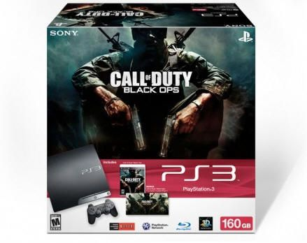 PS3 160 GB con Call of Duty: Black Ops