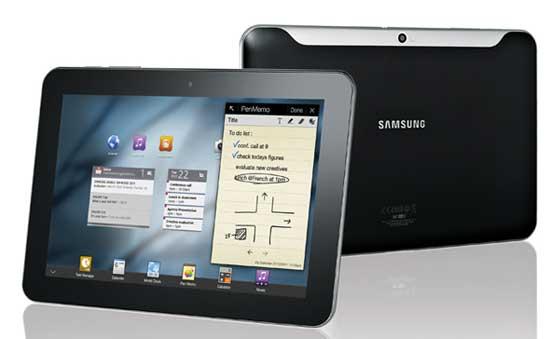 Samsung Galaxy Tab 10.1v, un tablet Android 3.0 que ya vende Vodafone