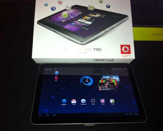 Samsung Galaxy Tab 10.1v: precios, tarifas, características